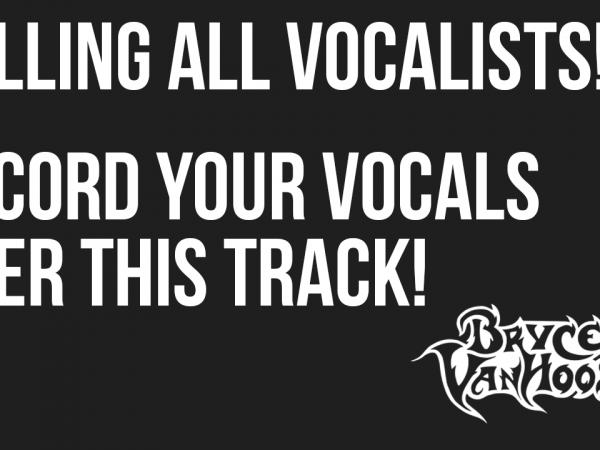 Bryce VanHoosen - Submit Your Vocals