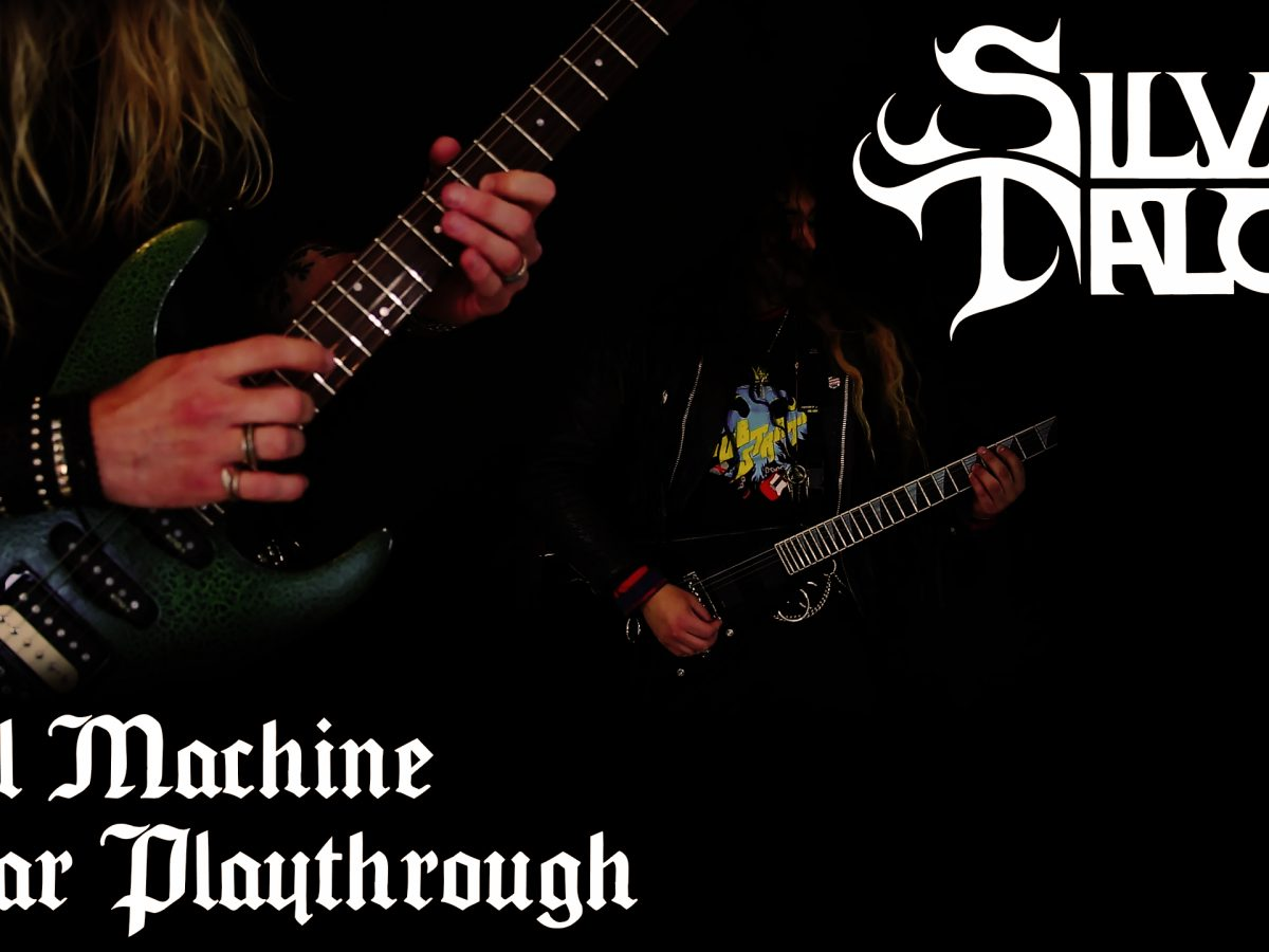 Silver Talon Devil Machine Guitar Play-through