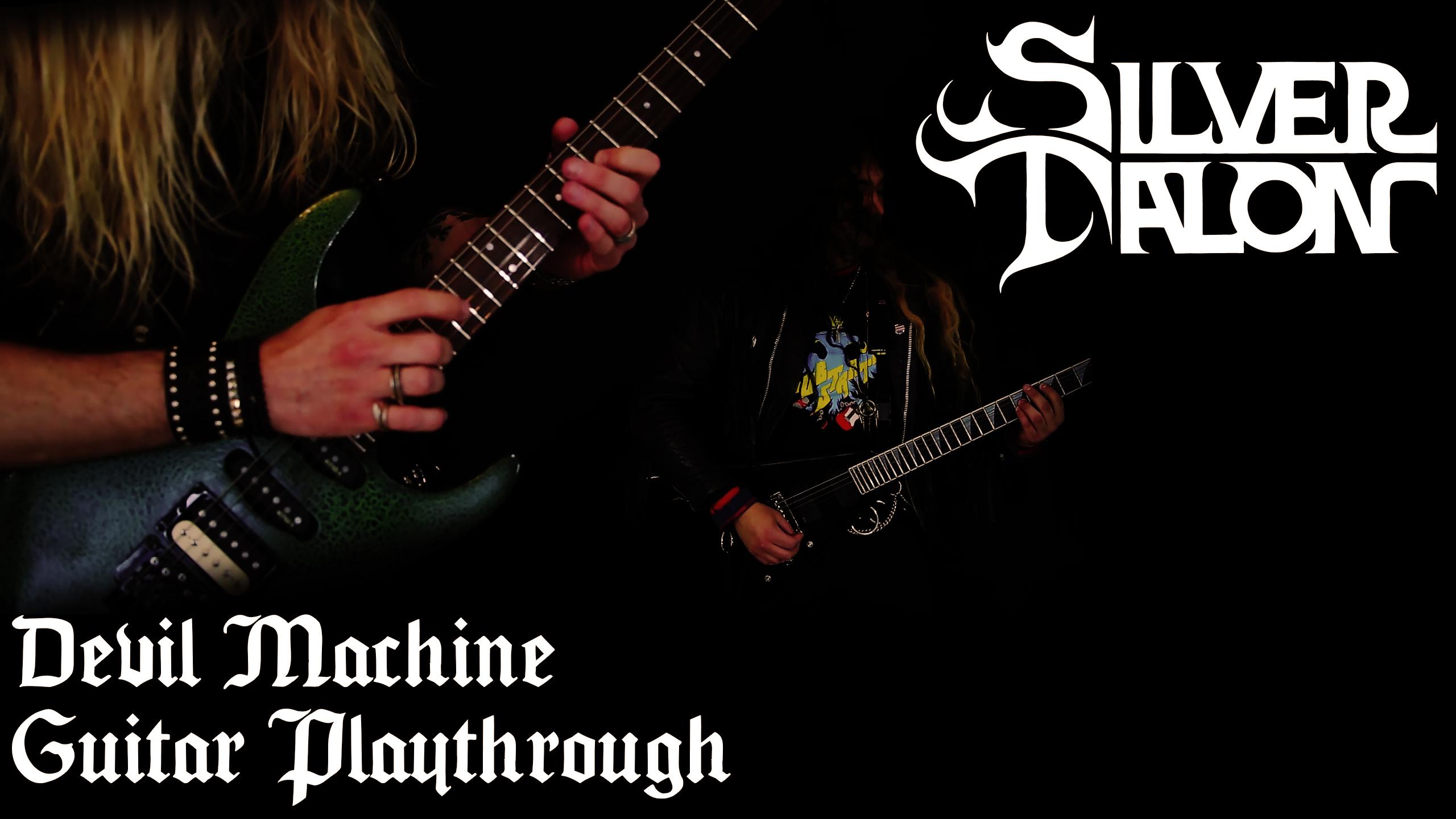 Silver Talon Devil Machine Guitar Play-through